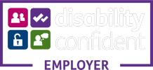 We are a disability confident employer.